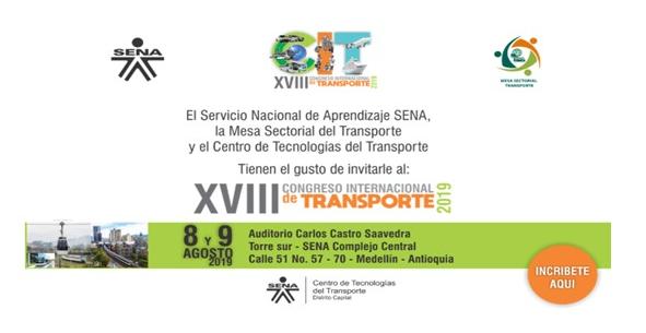 Formulario de Inscripción «XVIII Congreso Internacional de Transporte»